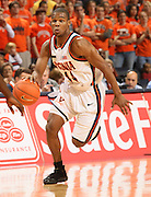 Sean Singletary men's basketball player for the Virginia Cavaliers at the University of Virginia in Charlottesville, VA. Photo/Andrew Shurtleff
