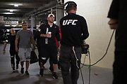 DALLAS, TX - MAY 13:  Stipe Miocic arrives at the arena before fighting Junior dos Santos during UFC 211 at the American Airlines Center on May 13, 2017 in Dallas, Texas. (Photo by Cooper Neill/Zuffa LLC/Zuffa LLC via Getty Images) *** Local Caption *** Stipe Miocic