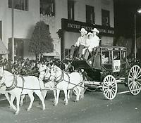 1973 Santa Claus Lane Parade on Hollywood Blvd.