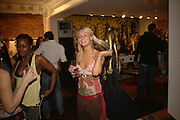 FRANCESCA BERNARD, Party to Celebrate opening of New Diesel Store on 130 Bond St.  at store and afterwards at Victoria House, Bllomsbury Sq. 18 May 2006. ONE TIME USE ONLY - DO NOT ARCHIVE  © Copyright Photograph by Dafydd Jones 66 Stockwell Park Rd. London SW9 0DA Tel 020 7733 0108 www.dafjones.com