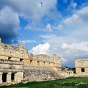 Nuns Quadrangle Mayan Ruins of Uxmal.