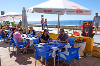 Cafe, bar, restaurant, coast, San Pedro de Alcantara, Marbella, Spain, Mediterranean, 201705013544<br /><br />Copyright Image from Victor Patterson, 54 Dorchester Park, Belfast, UK, BT9 6RJ<br /><br />t1: +44 28 9066 1296 (from Rep of Ireland 048 9066 1296)<br />t2: +44 28 9002 2446 (from Rep of Ireland 048 9002 2446)<br />m: +44 7802 353836<br /><br />e1: victorpatterson@me.com<br />e2: victorpatterson@gmail.com<br /><br />The use of any of my copyright images is subject to my Terms & Conditions. It is IMPORTANT that you familiarise yourself with them. They are available at my website, victorpatterson.com.<br /><br />None of my copyright images may be used on the Internet unless they are visibly watermarked, i.e. © Victor Patterson within the body of the image. My metadata, denoting my copyright must NOT be deleted. <br /><br />Web use is extra at currently recommended NUJ rates. Maximum permitted web size is<br /> 400kb. <br /><br />Images must not be passed on to a third party - they are for the use of the authorised recipient only.