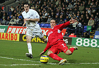 Photo: Paul Thomas.<br /> Bolton Wanderers v Liverpool. The Barclays Premiership.<br /> 02/01/2006.<br /> <br /> Harry Kewell