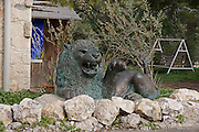 Israel, Carmel, Ein Hod Artist's village,