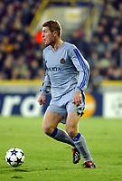 Fotball<br /> UEFA Champions League 2003/2004<br /> 04.11.2003<br /> Club Brügge / Brugge v AC Milan<br /> Gert Verheyen - Brugge<br /> Foto: Morten Olsen, Digitalsport