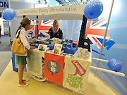 © Licensed to London News Pictures. 03/10/2011. MANCHESTER. UK. Conservative Party merchandise at The Conservative Party Conference at Manchester Central today, October 3, 2011. Photo credit:  Stephen Simpson/LNP