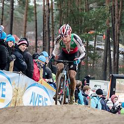 31-01-2016: Wielrennen: WK cyclecross elite: Heusden ZolderHEUSDEN-ZOLDER (BEL) cyclocrossOp het circuit van Terlamen-Zolder streden de elite veldrijders om de mondiale titels in het veld. <br /> WK Zolder Elite: Simon Zahner