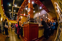 Tasting room, Herzog Wine Cellars (a kosher winery), Oxnard, California USA