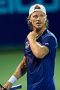 IRVING, TX - JULY 10:  Alex Bogomolov Jr. of the Texas Wild looks on during a mens singles match against Kevin Anderson of the Washington Kastles on July 10, 2013 at the Four Seasons Resort and Club in Irving, Texas.  (Photo by Cooper Neill/Getty Images) *** Local Caption *** Alex Bogomolov Jr.