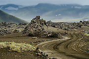 Landmannaaugar volcanic area. South Iceland