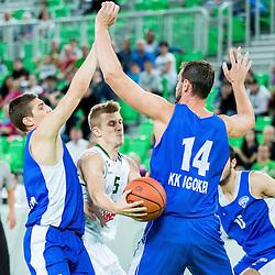 20140924: SLO, Basketball - Friendly match, KK Union Olimpija vs KK Igokea