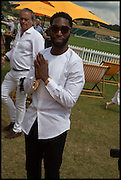 TINIE TEMPAH, 2004 Veuve Clicquot Gold Cup Final at Cowdray Park Polo Club, Midhurst. 20 July 2014