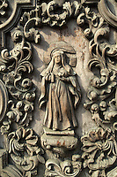 San Agustin Church Carved Wooden Doors San Agustin is the showpiece in the walled city of Intramuros Manila.  It was designated as a World Heritage Sites by UNESCO in 1993.  Earlier the church had been declared as a National Historical Landmark by the Philippine government in 1976.