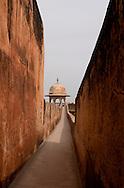 Red walls, Rajasthan, India