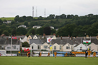 Photo: Rich Eaton.<br /> <br /> Carmarthen Town v SK Brann. UEFA Cup Qualifying. 19/07/2007. The game is the first European tie played at Carmarthen's ground Richmond Park