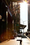 New York City: Tribeca Sunset
