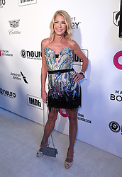 Candace Bushnell attending the Elton John AIDS Foundation Viewing Party held at West Hollywood Park, Los Angeles, California, USA.