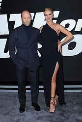 April 8, 2017 - New York, NY, USA - April 8, 2017  New York City..Jason Statham and Rosie Huntington-Whiteley attending 'The Fate Of The Furious' New York premiere at Radio City Music Hall on April 8, 2017 in New York City. (Credit Image: © Kristin Callahan/Ace Pictures via ZUMA Press)