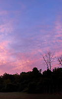 Early Autumn Morning Colorful Clouds. Tile 3 of 4. Composite of seven images taken with a Leica CL camera and 18 mm f/2.8 lens (ISO 200, 18 mm, f/2.8, 1/125 sec). Raw images processed with Capture One Pro, and AutoPano Giga Pro.