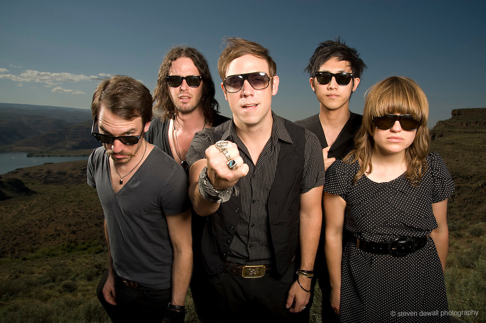 The Airborne Toxic Event at The Sasquatch Music Festival