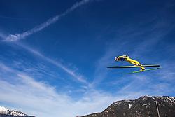 31.12.2012, Olympiaschanze, Garmisch Partenkirchen, GER, FIS Ski Sprung Weltcup, 61. Vierschanzentournee, Training, im Bild Michael Hayboeck (AUT) // Michael Hayboeck of Austria during practice Jump of 61th Four Hills Tournament of FIS Ski Jumping World Cup at the Olympiaschanze, Garmisch Partenkirchen, Germany on 2012/12/31. EXPA Pictures © 2012, PhotoCredit: EXPA/ Juergen Feichter