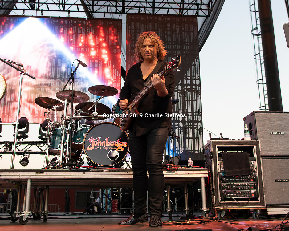 BILLY SHERWOOD of Asia at Five Point Amphitheater in Irvine, California.