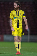 Burton Albion midfielder Scott Fraser during the The FA Cup 1st round match between Scunthorpe United and Burton Albion at Glanford Park, Scunthorpe, England on 10 November 2018.