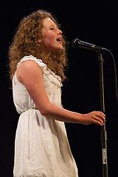 Teenage singer