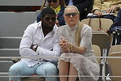 May 31, 2019 - 2019 Roland-Garros Tennis Open. Internationaux de tennis de Roland-Garros. Tribunes. Pernell Karl Subban. Lindsey Vonn.....240179 2019-05-30  (Credit Image: © Arnal-Durden/Starface via ZUMA Press)