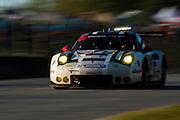 October 1, 2016: IMSA Petit Le Mans, #912 Earl Bamber, Frederic Makowiecki, Porsche North America, Porsche 911 RSR GTLM