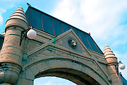 CHICAGO, HISTORIC ARCHITECTURE Chicago Stock Yard Gates
