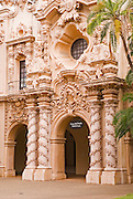 The Casa del Prado in Balboa Park, San Diego, California USA