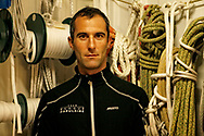 A day with Armel Le Cléac'h, skipper from the Banque Populaire Sailing Team in Lorient, on December 2015 - Photo Christophe Launay / ProSportsImages / DPPI