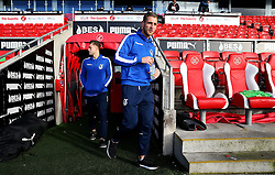 Lee Brown of Bristol Rovers arrives at Highbury Stadium - Mandatory by-line: Matt McNulty/JMP - 14/01/2017 - FOOTBALL - Highbury Stadium - Fleetwood, England - Fleetwood Town v Bristol Rovers - Sky Bet League One