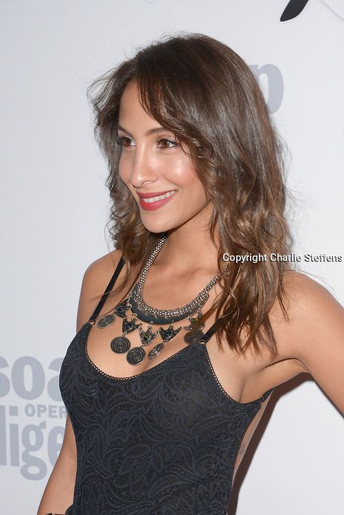 CHRISTEL KHALIL at Soap Opera Digest's 40th Anniversary party at The Argyle Hollywood in Los Angeles, California
