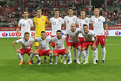 September 11, 2018 - Warsaw, Poland - Poland team line-up before the international friendly match between Poland and Republic of Ireland at the Stadion Miejski on September 11, 2018 in Wroclaw, Poland. (Credit Image: © Foto Olimpik/NurPhoto/ZUMA Press)