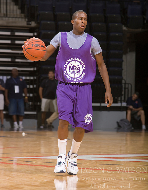 PG Zenan Robinson (Oakland, CA / Oakland).  The NBA Player's Association held their annual Top 100 basketball camp at the John Paul Jones Arena on the Grounds of the University of Virginia in Charlottesville, VA on June 18, 2008