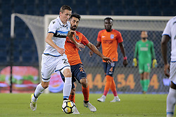 August 2, 2017 - Istanbul, Turquie - ISTANBUL, TURKEY - AUGUST 02 : Hans Vanaken midfielder of Club Brugge and Mahmut Tekdemir of Istanbul Basaksehir pictured during the UEFA Champions League third qualifying round 2nd leg match between Istanbul Basaksehir and Club Brugge at the Basaksehir Fatih Terim Stadium on August 02, 2017 in Istanbul, Turkey, 2/08/17 (Credit Image: © Panoramic via ZUMA Press)