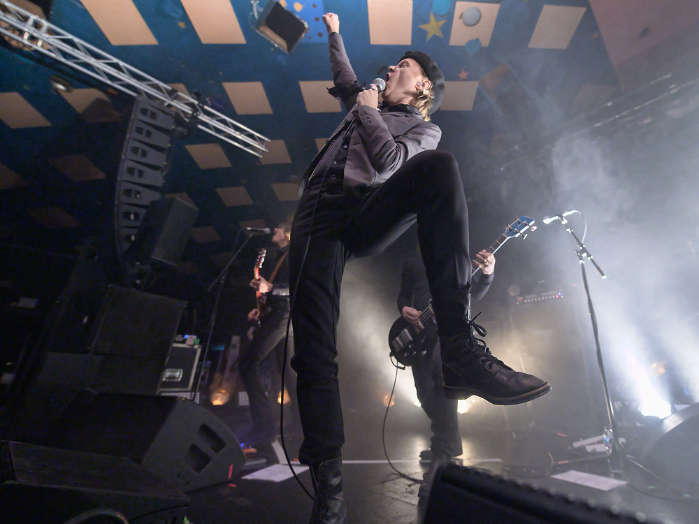 Refused in concert at The Barrowland Ballroom, Glasgow' Scotland, UK 27th October 2019