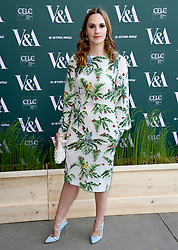 Ruth Bradley attending the VIP preview for the V&A Museum's Fashioned From Nature exhibition, in London. Photo credit should read: Doug Peters/EMPICS Entertainment