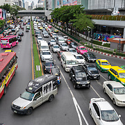 NLD/Bangkok/20180713 - Vakantie Thailand 2018, verkeersdrukte
