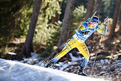 Johanna Skottheim (SWE) during the Women 15 km Individual Competition at day 2 of IBU Biathlon World Cup 2019/20 Pokljuka, on January 23, 2020 in Rudno polje, Pokljuka, Pokljuka, Slovenia. Photo by Peter Podobnik / Sportida