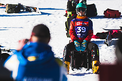 Annamari Dancha (UKR) during parallel slalom FIS Snowboard Alpine World Championships 2021 on March 2nd 2021 on Rogla, Slovenia. Photo by Grega Valancic / Sportida
