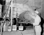 Y-550420A-01 Reimann & McKenney, drum plant, 3000 NW St. Helens Rd, April 20, 1955