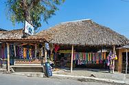 The Corazon del Lago (Heart of the Lake) store in main street San Juan la Laguna, Solola.