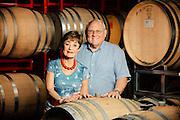 Sheila and Bill Blakeslee owner of Blakeslee Vineyard