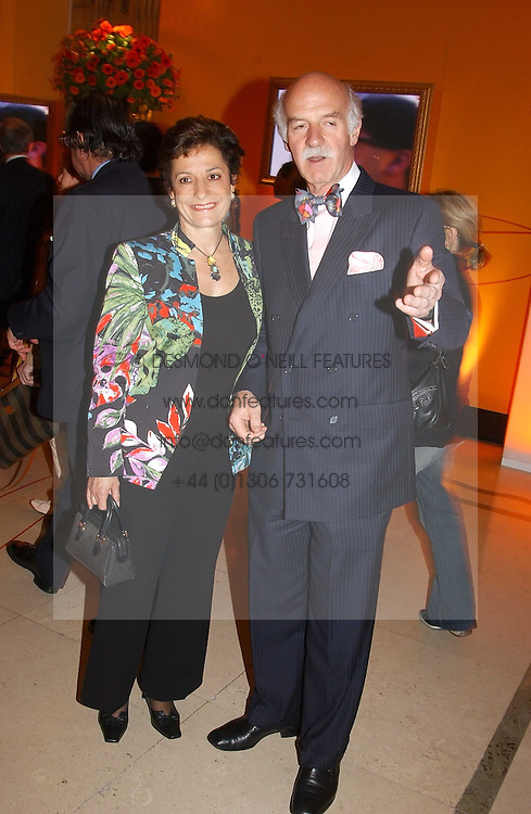 MR & MRS ANTON MOSIMANN at the 2005 Clicquot Award - Business Woman of The Year award ceremony held at Claridge's, Brook Street, London W1 on 28th April 2005.