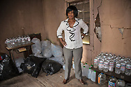 Wanda Bowman keeps clean water handy in a shed on the Bowmans' property to distribute to those who need it. Edwards made an emergency health proclamation on December 16, 2016, enabling a fast-tracked replacement of St. Joseph's water system after lead was found in the water.