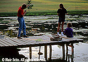 Fishing, Pennsylvania Outdoor recreation, Fishing Father Fishing with Children,