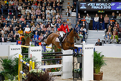 Bloomberg Georgina, USA, Charmeur 137<br /> Jumping Final Round 2<br /> Longines FEI World Cup Finals Jumping Gothenburg 2019